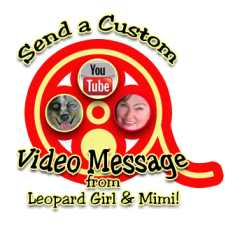 Send a Custom Message From Leopard Girl and Mimi